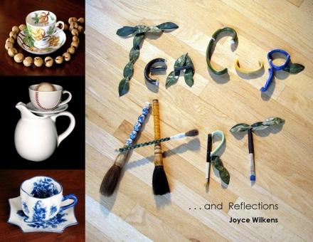 teacup art book by joyce wilkens